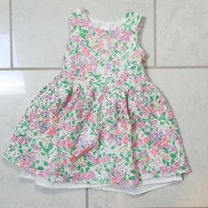 3T floral lace dress